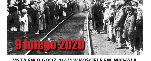 Bridgeport, Connecticut – Obchody 80. Rocznicy pierwszej i najliczniejszej zsyłki Polaków ze wschodnich ziem polskich na Sybir