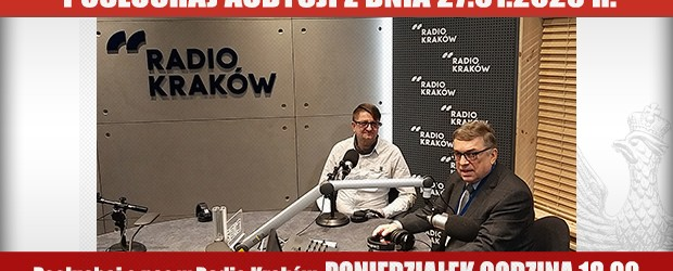 """POSŁUCHAJ AUDYCJI: """"Radiowy Klub Gazety Polskiej"""" – 27.01.2020 r.(audio)"""