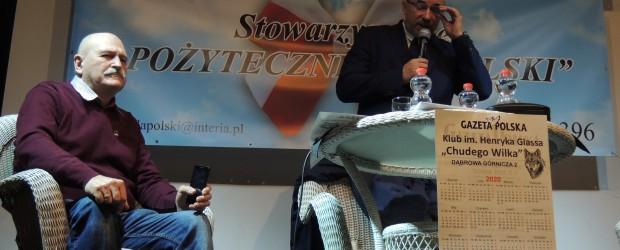 Dąbrowa Górnicza: Spotkanie z Wojciech Sumlińskim.