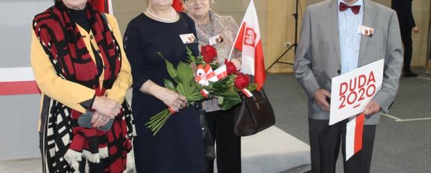 Konin: Spotkanie z Prezydentem Andrzejem Dudą