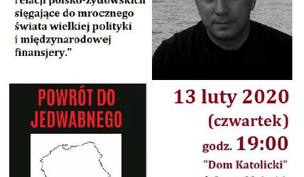 Myślenice: Zaproszenie na spotkanie z Panem Wojciechem Sumlińskim