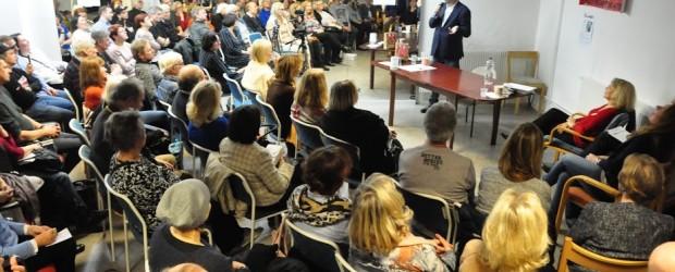 Sztokholm (Szwecja): Spotkanie z red. Witoldem Gadowskim