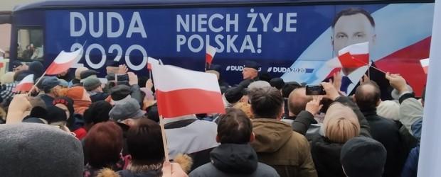 Łowicz: Prezydent Andrzej Duda w Łowiczu