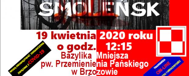 Brzozów: Zaproszenie – Dzień Pamięci Ofiar Zbrodni Katyńskiej 19 kwietnia godz: 12:15 (transmisja online)