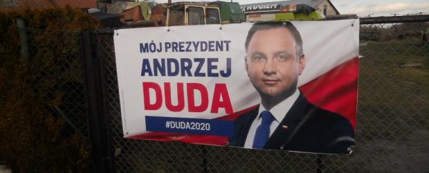 Elbląg II: Akcja wyborcza Andrzeja Dudy
