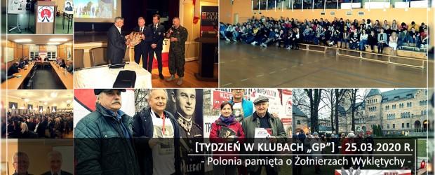 """[Tydzień w Klubach """"GP""""] Polonia pamięta o Żołnierzach Wyklętych"""