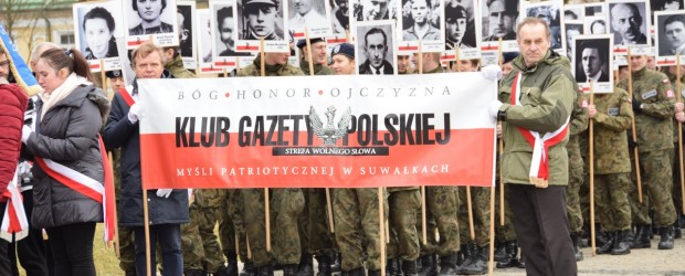 Suwałki: Obchody Żołnierzy Niezłomnych w Suwałkach
