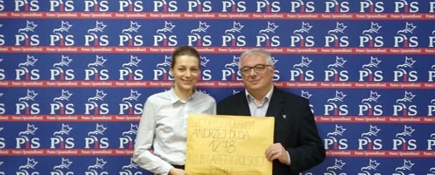 Tychy: Poparcie dla Prezydenta Andrzeja Dudy