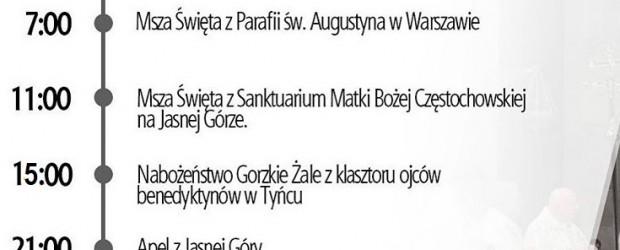Msze święte będą transmitowane na portalu niezalezna.pl i w Telewizji Republika