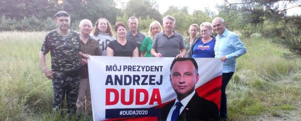 Skierniewice:  Popiera Prezydenta Andrzeja Dudę