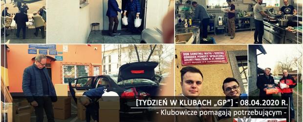 """[Tydzień w Klubach """"GP""""] Klubowicze pomagają potrzebującym"""