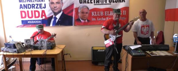 Elbląg II: Andrzej Rodzinny Duda 2020-autor tekstu Bugi Tadrowski muz.Jan Kaczmarek