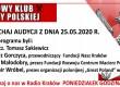 """POSŁUCHAJ AUDYCJI: """"Radiowy Klub Gazety Polskiej"""" – 25.05.2020 r.(audio)"""