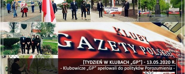 """[Tydzień w Klubach """"GP""""] Klubowicze """"GP"""" apelowali do polityków Porozumienia"""
