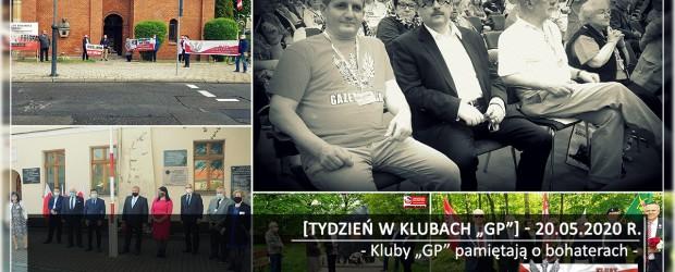 """[Tydzień w Klubach """"GP""""] Kluby """"GP"""" pamiętają o bohaterach."""