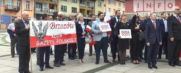 DUDA 2020|Wiec poparcia dla Prezydenta Andrzeja Dudy w Brzozowie (wideo)