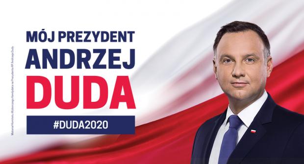 NASZ PREZYDENT ANDRZEJ DUDA – WYBORY 2020