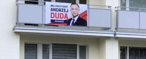 DUDA 2020 | Poparcie w Elblągu