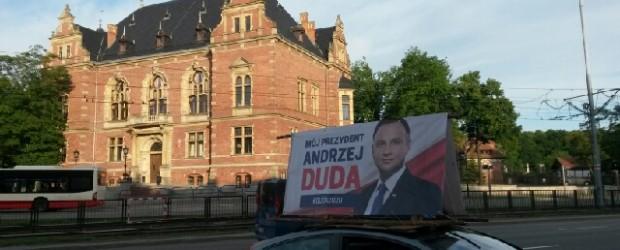 DUDA 2020 | Bannery poparcia w Gdańsku