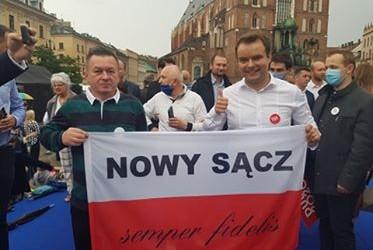 DUDA 2020 | Klub GP w Nowym Sączu popiera Prezydenta Andrzeja Dudę