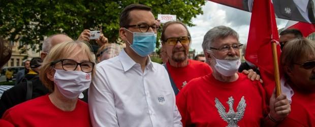 DUDA 2020 | Klub GP w Poznaniu spotkał się z premierem Mateuszem Morawieckim