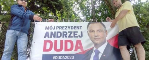 DUDA 2020 |Bannery na Starym Mieście w Sandomierzu