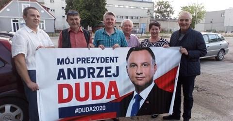 DUDA 2020 | Klub GP w Skierniewicach popiera Prezydenta Andrzeja Dudę