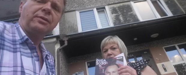 DUDA 2020 Piątkowe zakończenie kampanii prezydenta Andrzeja Dudy w Suwałkach