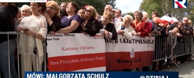 Polonia z prezydentem (wideo)