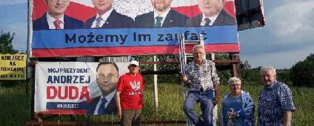 DUDA 2020 | Ostatnia prosta w Tarnowskich Górach