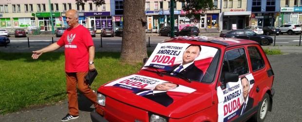 DUDA 2020| Akcja poparcia Prezydenta Andrzeja Dudy w Tychach