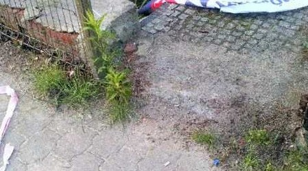 DUDA 2020 | Poniszczone bannery w Biskupicach