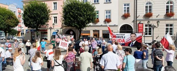 DUDA 2020|Manifestacja poparcia Andrzeja Dudy w Dzierżoniowie
