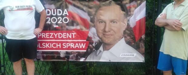 [DUDA 2020] Jastrzębie-Zdrój popiera Prezydenta Andrzeja Dudę.