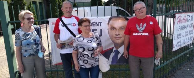DUDA 2020|Końcówka kampanii w Pabianicach