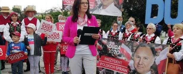"""Bardzo cieszy nas zwycięstwo Andrzeja Dudy – mówi jedna z liderek Klubów """"Gazety Polskiej"""""""