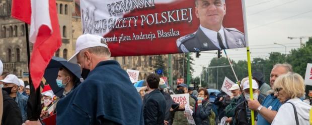 [DUDA 2020] Poznań: Wiec poparcia Prezydenta Andrzeja Dudy