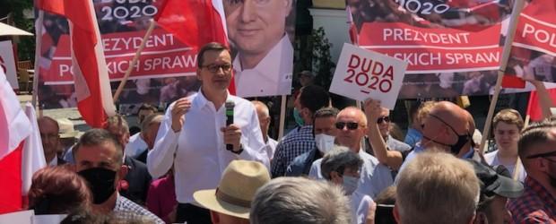 Sandomierz: Spotkanie z premierem Mateuszem Morawieckim (wideo)