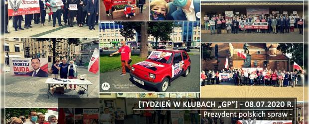 """[Tydzień w Klubach """"GP""""] Prezydent polskich spraw"""