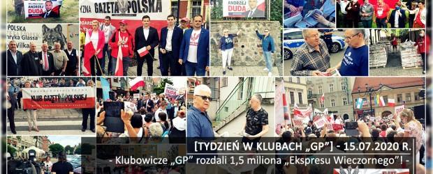 """[Tydzień w Klubach """"GP""""] Klubowicze """"GP"""" rozdali 1,5 miliona """"Ekspresu Wieczornego""""!"""