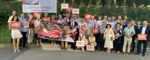 [DUDA 2020] Klub GP Sucha Beskidzka gościł Pana Krzysztofa Szczerskiego oraz Pana Krzysztofa Kozika.
