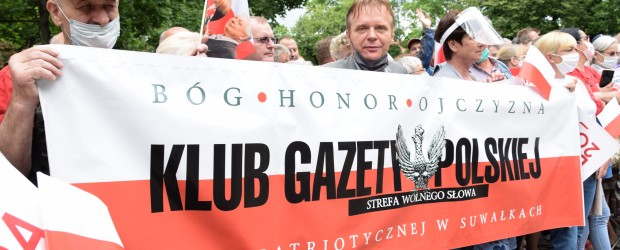 [DUDA 2020] Klub GP Suwałki na spotkaniu z Prezydentem Andrzejem Dudą
