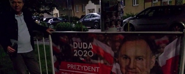 Zakończenie kampanii wyborczej Andrzeja Dudy w Suwałkach