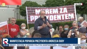 Warszawa Borowski manifestcja