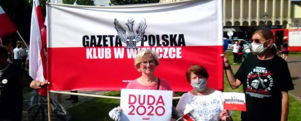 [DUDA 2020] Andrzej Duda odwiedził Wieliczkę