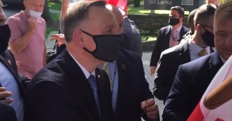 Filadelfia: Spotkanie z Prezydentem Andrzejem Dudą
