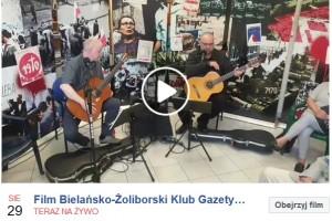 [OGLĄDAJ NA ŻYWO] WARSZAWA ŻOLIBORZ-BIELANY – z okazji 40 lecia Solidarności odbędzie się koncert Pawła Piekarczyka poświęcony rocznicy. 29 sierpnia,