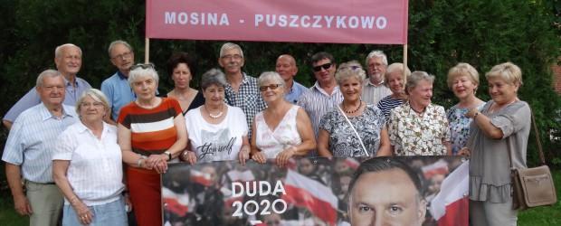 Mosina-Puszczykowo: Zakończanie kampanii wyboru Pana Andrzeja Dudy