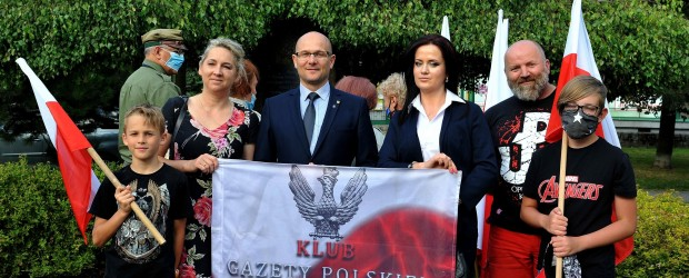 Nowy Sącz: Uroczystości 76 rocznicy Powstania Warszawskiego