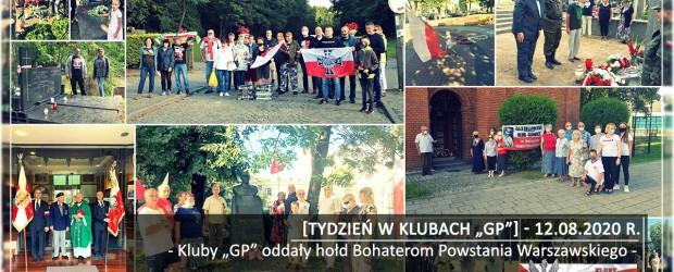 """[Tydzień w Klubach """"GP""""] Kluby """"GP"""" oddały hołd Bohaterom Powstania Warszawskiego"""